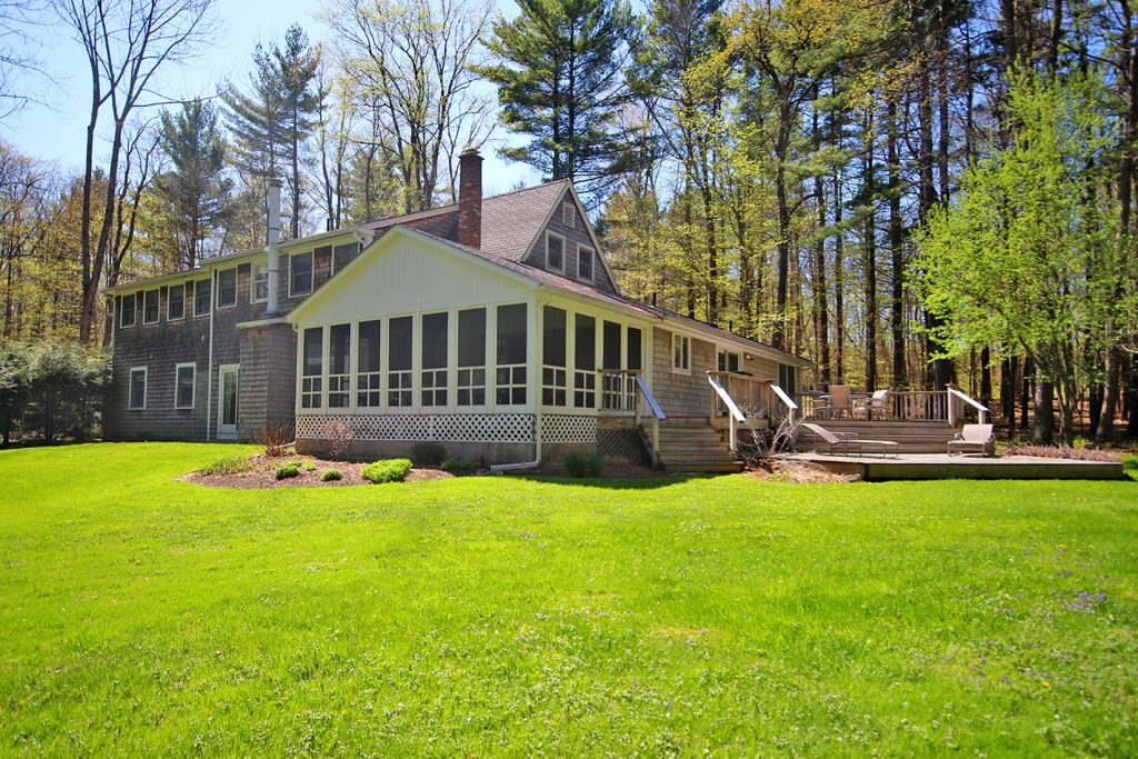 Renovated Contemporary Cape - Berkshire County Real Estate